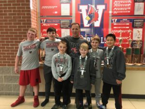 Grade school state placers Ohio team miron